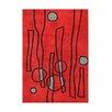Wildon Home ® Andreia  Hand-Tufted Red Area Rug