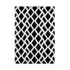 Wildon Home ® Ailee Hand-Tufted Black/White Area Rug