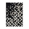 Wildon Home ® Ailen Hand-Tufted Black/White Area Rug