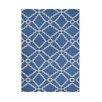 Wildon Home ® Akahana  Hand-Tufted Blue Area Rug