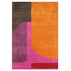 Wildon Home ® Alleeah  Hand-Tufted Flame Orange Area Rug