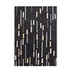 Wildon Home ® Ainara  Hand-Tufted Black Area Rug