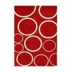 Wildon Home ® Andrieka  Hand-Tufted Red Area Rug