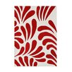 Wildon Home ® Andrina  Hand-Tufted Red Area Rug