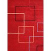 Wildon Home ® Andrine  Hand-Tufted Red Area Rug
