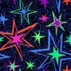 "Wildon Home ® Big Bang© 39"" x 39"" Carpet Tile in Flourescent (Set of 25)"