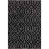 Wildon Home ® Deana Silver/Black Area Rug