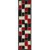 Wildon Home ® Cadwynne Black/Red Area Rug
