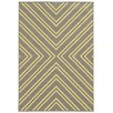 Wildon Home ® Cannes Indoor/Outdoor Geometric Grey/Ivory Area Rug