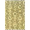 Wildon Home ® Adeline Hand-Crafted Wool Ikat Ivory/Beige Area Rug