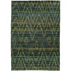 Wildon Home ® Gypsy Abstract Green/Blue Area Rug