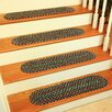 Wildon Home ® Cressa Navy Indoor/Outdoor Stair Tread (Set of 13)