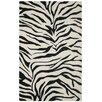 Wildon Home ® Aislynn Hand-Tufted Black/Ivory Area Rug