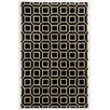 Wildon Home ® Aislee Hand-Tufted Black/Beige Area Rug