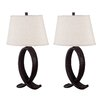 "Wildon Home ® Vander 29"" H Table Lamp with Empire Shade (Set of 2)"