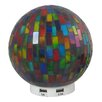 """Wildon Home ® L. Idea 6.2"""" H Table Lamp with Globe shade"""