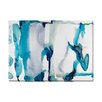 "Wildon Home ® ""Water I"" by Kate Roebuck Painting Print on Canvas"