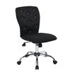 Wildon Home ® Tiffany Adjustable Mid-Back Office Chair in Tufted Back
