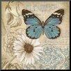 Wildon Home ® 'Butterfly Garden II' by Conrad Knutsen Graphic Art