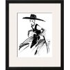 Wildon Home ® 'Anabel' by Mona Shafer-Edwards Framed Painting Print