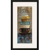 Wildon Home ® 'Antique Coffee Cups II' by Silvia Vassileva Framed Graphic Art