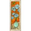 Wildon Home ® 'Hydrangea Bursts II' by Anne Hempel Framed Painting Print