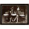 Wildon Home ® 'Cafe et Cigarette Paris, 1925' Framed Photographic Print