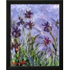 Wildon Home ® 'Irises' by Claude Monet Framed Painting Print