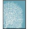 Wildon Home ® 'Aqua Coral II' by Sabine Berg Graphic Art