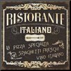 Wildon Home ® 'Italian Cuisine I' by Pela Textual Art