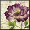 Wildon Home ® 'Study in Purple II' by Pamela Gladding Painting Print