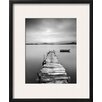 Wildon Home ® Peaceful Pier Framed Photographic Print