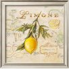 Wildon Home ® 'Tuscan Lemon' by Angela Staehling Framed Painting Print