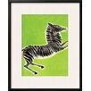 Wildon Home ® 'Zebra' by Frank Mcintosh Framed Graphic Art
