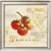 Wildon Home ® 'Tuscan Tomato' by Angela Staehling Framed Painting Print