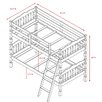 Wildon Home ® Vista Twin Standard Bunk Bed