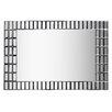 Wildon Home ® Grid Wall Mirror