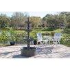 Dania Resin Outdoor Floor Fountain - Fleur De Lis Living Indoor and Outdoor Fountains
