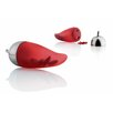 Alessi Object Bijoux Piccantino Chili Scruncher by LPWK and Jim Hannon-Tan