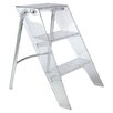 Kartell 3-Step Plastic Upper Step Stool with 570 lb. Load Capacity