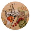 "Lexington Studios Home and Garden 18"" Recipes Wall Clock"