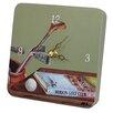 Lexington Studios Sports Green Golf Tiny Times Clock