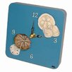 Lexington Studios Travel and Leisure Seashells Tiny Times Clock