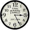 Lexington Studios Time Wall Clock