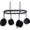 J & J Wire Hanging Pot and Pan Rack