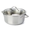 Calphalon Contemporary Stainless Steel 6.5 Qt. Stock Pot with Lid