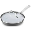 Calphalon Classic Ceramic Non-Stick Frying Pan with Lid