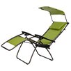 Gold Sparrow Pacific Green XL Zero Gravity Chair with Canopy and Tray