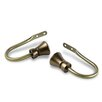 Rod Desyne Cora Curtain Holdback (Set of 2)