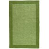 St. Croix Pulse Border Green Tufted Area Rug